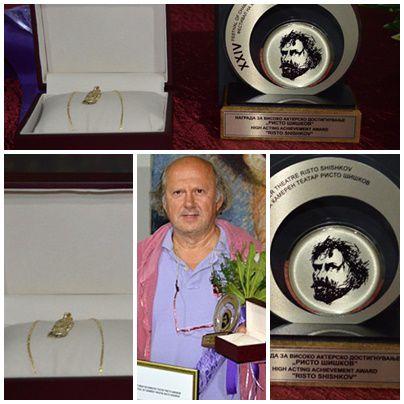 Зијах Соколовиќ лауреат на фестивалот Ристо Шишков