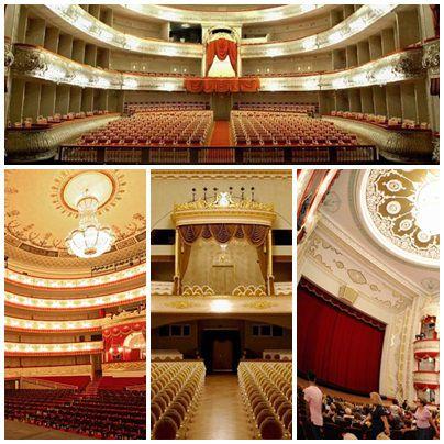 Најубавите театри во Санкт Петербург, Русија