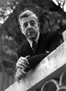 FRANCE. Paris. French poet, Jacques PREVERT. Contact email: New York : photography@magnumphotos.com Paris : magnum@magnumphotos.fr London : magnum@magnumphotos.co.uk Tokyo : tokyo@magnumphotos.co.jp Contact phones: New York : +1 212 929 6000 Paris: + 33 1 53 42 50 00 London: + 44 20 7490 1771 Tokyo: + 81 3 3219 0771 Image URL: http://www.magnumphotos.com/Archive/C.aspx?VP3=ViewBox_VPage&IID=2S5RYDY4LXFI&CT=Image&IT=ZoomImage01_VForm