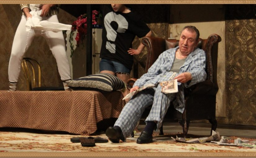 Со помош на железничарот го одиграв вториот чин, а подоцна и премиерата!