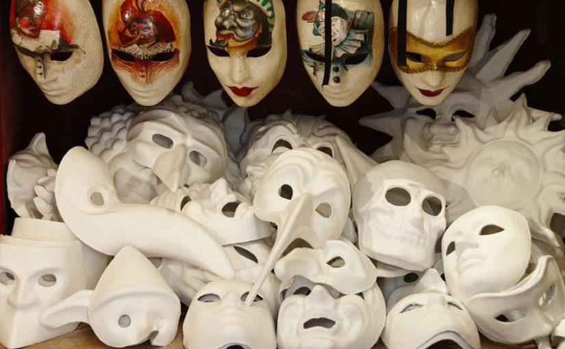 Театарски маски на античкиот свет на Грција