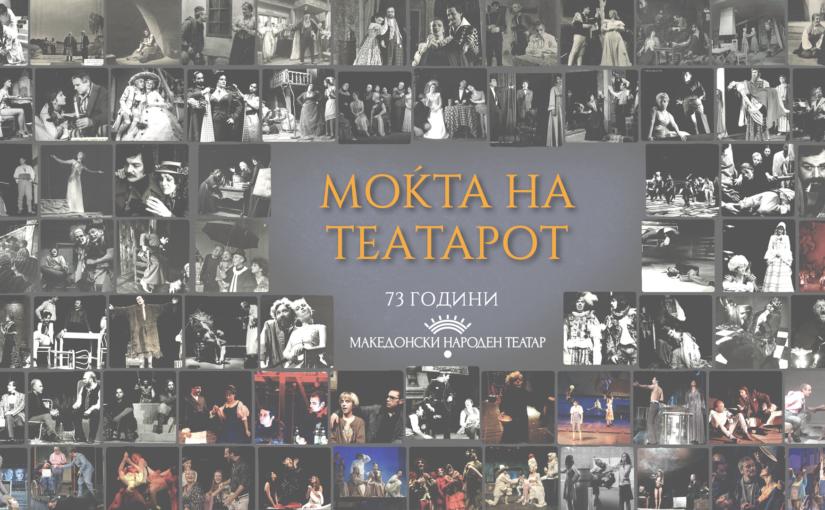"""73 години МНТ/Изложба – """"Моќта на актерот"""""""